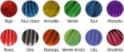 Colores fibra