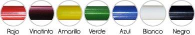 Colores tubos