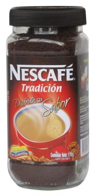 Café instantáneo Nescafé Tradición 170 g referencia 9009