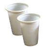 Vaso plástico 2.5 oz blanco Domingo referencia 9105
