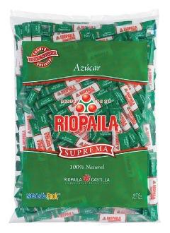Azúcar Riopaila tubos 5 g referencia 9035