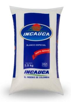 Azúcar blanca Incauca 2.5 k referencia 9063