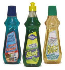 Detergentes líquidos para el hogar
