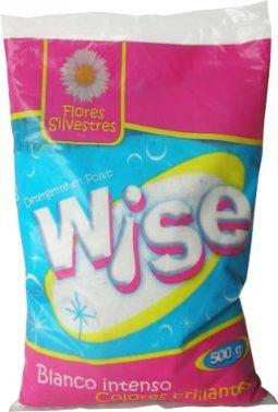 Detergente en polvo 500 g Wise flores silvestres referencia 3089