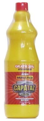 Ácido muriatico 800 ml Capataz referencia 3857