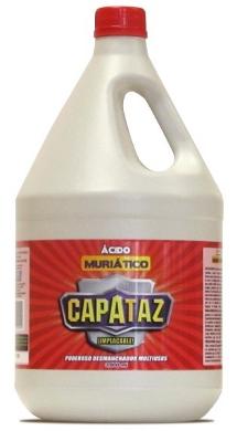 Ácido muriatico 3800 ml Capataz referencia 3861