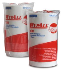 Paño absorbente Wypall X80 referencia 7178