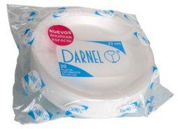 Plato espumado 23 cm Darnell referencia 9157