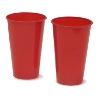 Vaso rojo Rumba 12oz