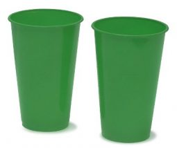 Vaso verde Rumba 12oz