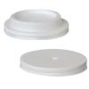Tapas plásticas para vasos de papel cartón