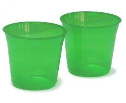 Vaso verde traslucido Rumba 7oz
