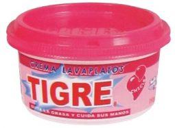 Crema lavaloza Tigre chicle 250 g Referencia 3158