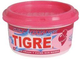 Crema lavaloza Tigre chicle 500 g Referencia 3059