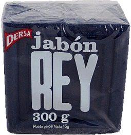 Jabón en barra azul Rey 300 g referencia 3064