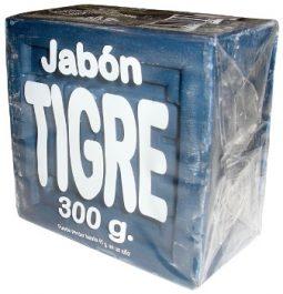 Jabón en barra azul Tigre 300 g referencia 3065