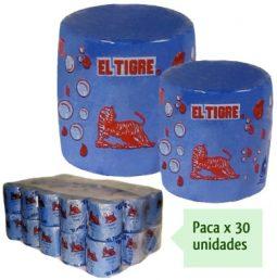 Jabon bola azul Tigre 1000 g referencia 3068