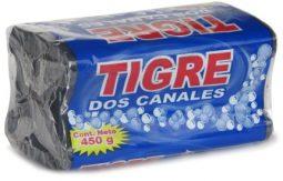 Jabón en barra 2 canales Tigre 450 g referencia 3077