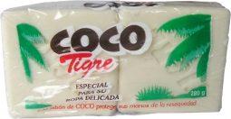 Jabón en barra coco Tigre Duopack 280 g referencia 3116
