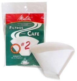 Filtro cónico No. 2 paquete x 40 Melitta referencia 9189