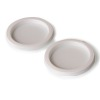 Tapa plástica lisa para vaso 3,5 y 7 oz x 75 unidades referencia 9126