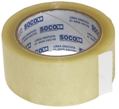 Rollo cinta pegante transparente ancha 4,5 cm x 100 m referencia 7441