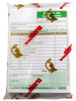 Recibo caja menor Minerva 2003 x 200 referencia 7481