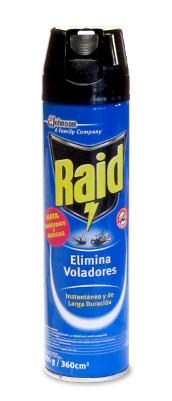 Insecticida Raid 360 cc referencia 2780