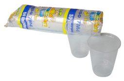 Vaso plástico traslúcido 7 oz referencia 9110