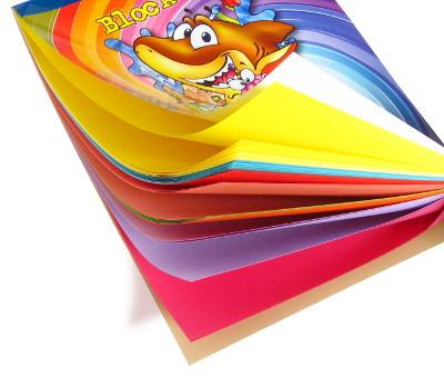 Block papel iris colores tamaño carta Referencia 7330